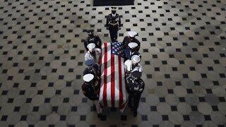 Justice Ruth Bader Ginsburg Buried At Arlington National Cemetery