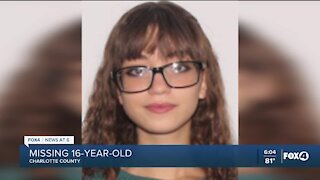 Charlotte County Sheriff's Office searching for missing teen