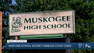 How one school district handles COVID-19 cases