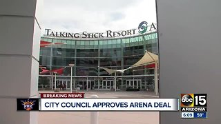 Phoenix City Council approves Talking Stick Arena renovations deal