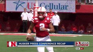 Sports debrief: Husker press conference recap
