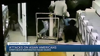 Attacks on Asian Americans