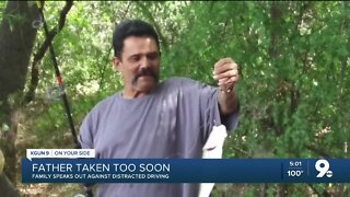 Family speaks out against distracted driving