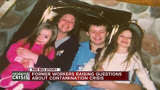Former worker raising questions about contamination crisis