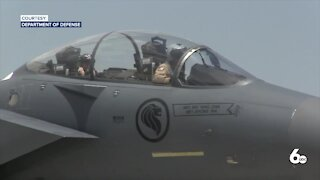 Singapore F-15 squadron trains at Mountain Home Air Force Base