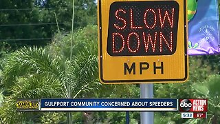 Gulfport community concerned about speeders