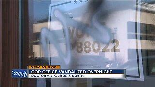 New Milwaukee GOP office vandalized with graffiti