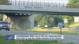 Rep. Reed calls for DOJ investigation