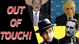 """Cuomo & Dr. Fauci Compare Themselves to """"The Godfather"""" Stars De Niro & Pacino!"""