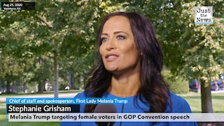 MELANIA TRUMP TARGETING FEMALE VOTERS IN GOP CONVENTION SPEECH