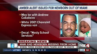 Triple homicide in Miami-Dade County prompts Amber Alert for missing 1-week-old boy
