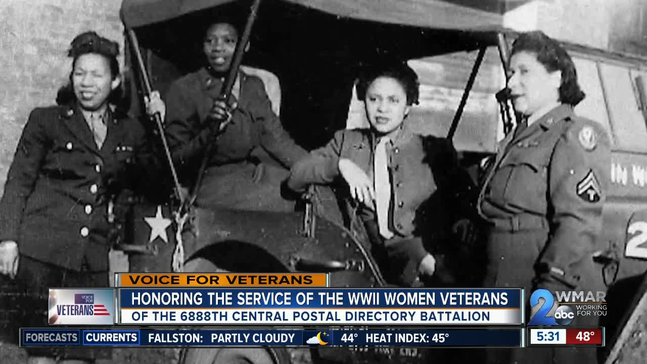 Honoring the service of the WWII women veterans