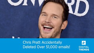 Chris Pratt Accidentally Deleted Over 51,000 Emails!