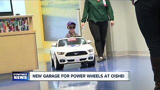 Patients at Oishei Children's Hospital have a stylish home for their sweet Power Wheels