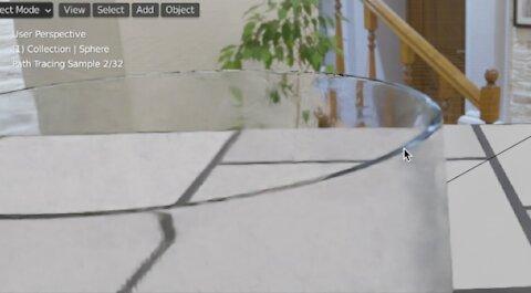 Blender Beginners   Faking Dispersion Glass Shader  