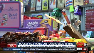 Locally-owned candy shop, Rocket Fizz, opens during pandemic despite challenges