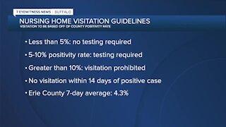 Nursing home visitation guidelines released