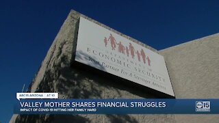 Valley mother shares financial troubles amid COVID-19