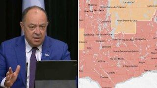 Alerte maximale : 2 nouveaux secteurs au Québec basculent en zone rouge