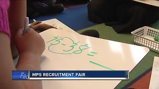 Milwaukee Public Schools hosting a recruitment fair for teachers