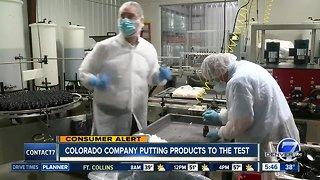 Colorado company helps ensure CBD products are safe