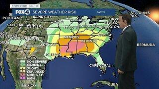 Forecast: Record heat returns Sunday
