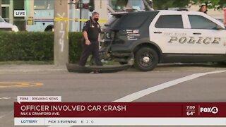 Officer involved car crash