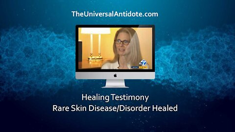 Actor Lindsay Wagner (The Bionic Woman) Cured of with The Universal Antidote