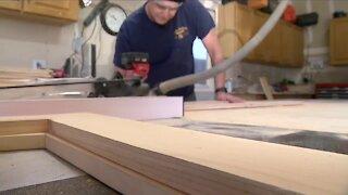 Denver7 Everyday Hero: Building desks for kids in need