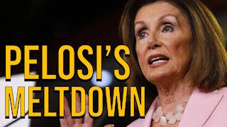 Nancy Pelosi Has $15 Meltdown