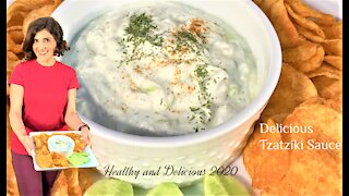 How to Make Easy and Delicious Tzatziki Sauce (To Serve with Gyros)