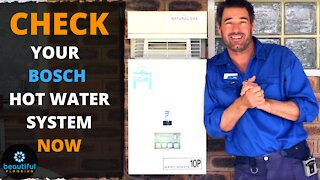 Why You Need to Check Your Bosch Hot Water System Now