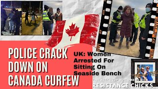 Canada Desperate Collapse of Government Curfews Martial Law