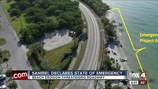 Sanibel declares state emergency for beach erosion