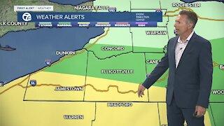 7 First Alert Forecast 5am Update, Wednesday, July 7
