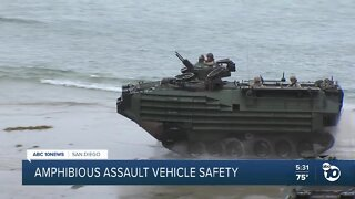 Amphibious Assault Vehicle safety examined after deadly SoCal accident