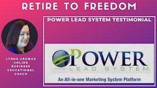 Power Lead System Testimonial