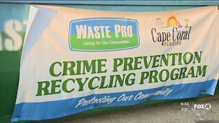 Cape Coral and Waste Pro offer recycling anti-theft program