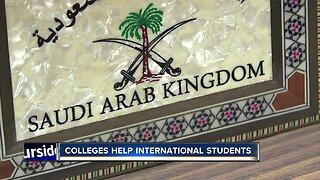 Helping international students