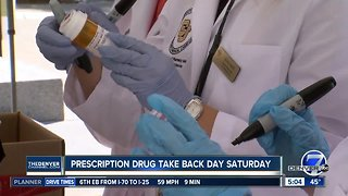 Prescription drug take back day