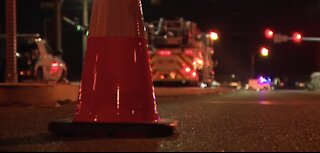 North Las Vegas police investigate deadly crash near Craig, Bruce