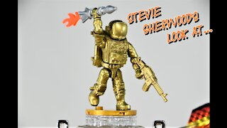 Call of Duty Gold Ghost Figure