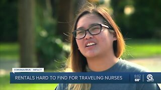 Travel nurses face affordable housing obstacles in Palm Beach County