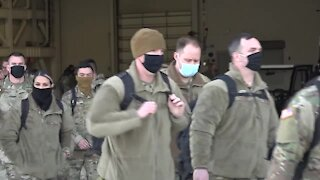 Idaho National Guard departs for Washington D.C. and the presidential inauguration