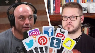 Joe Rogan on the Social Media Purge