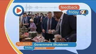 Feedback Friday: Census, government shutdown