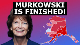 MURKOWSKI IS DONE? - Poll Shows Trumpian Primary Challenger AHEAD by FIFTEEN Points!