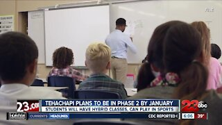 Tehachapi Union School District to discuss reopening plan