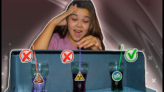 choose the right drink challenge!
