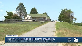 Police searching for suspects in Anne Arundel County home invasion